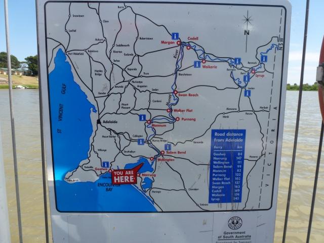 Wellington Ferry map
