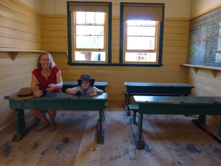 Pioneer settlement school's in!