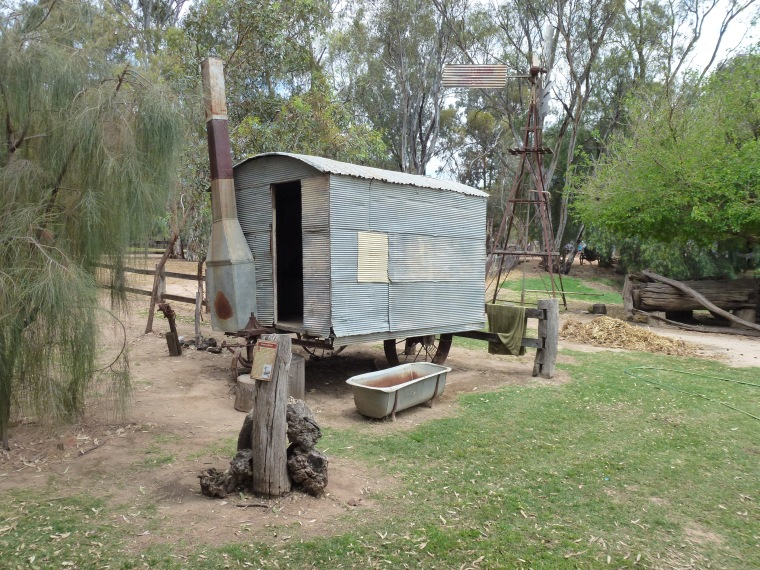 Pioneer settlement - the first Jayco?