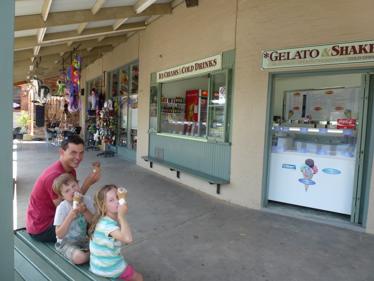 Echuca ice creams