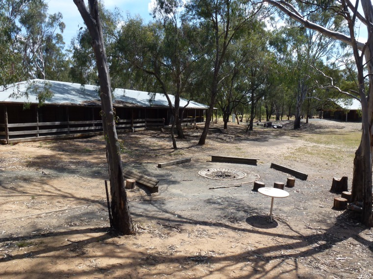 Our Barmah campfire
