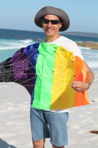 The stunt kite