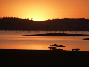 Sunset at Lake Hume