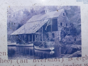 The flour mill of yesteryear.