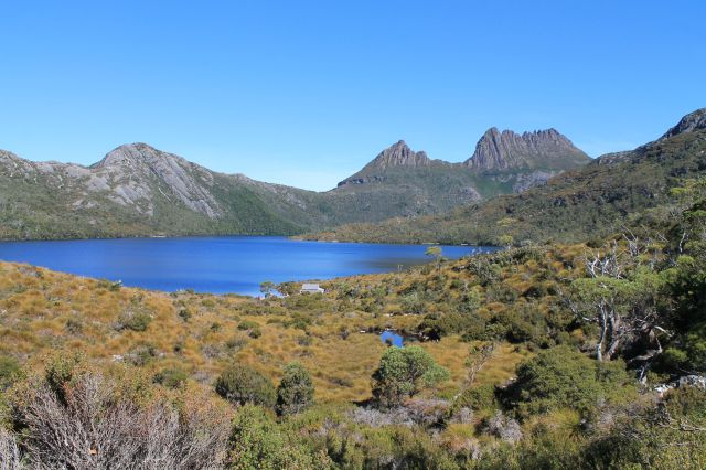 Cradle Mountain with Dove Lake