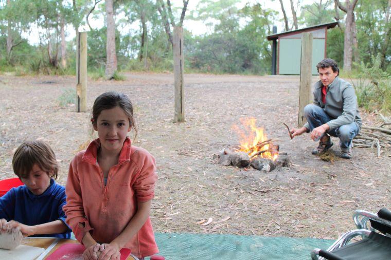 Campfire damper