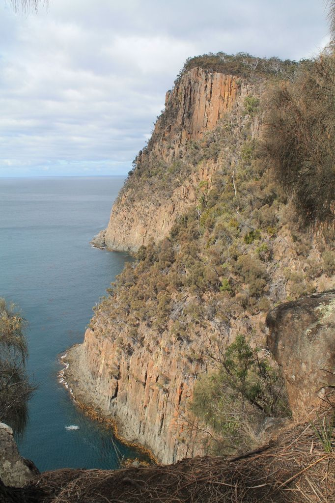 Fluted Cape - up to 270m high