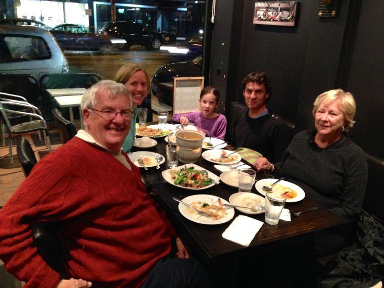 Delicious Melbourne dinner