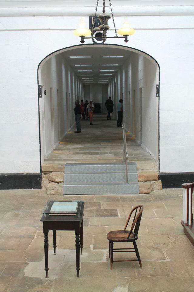 Separate Prison corridor