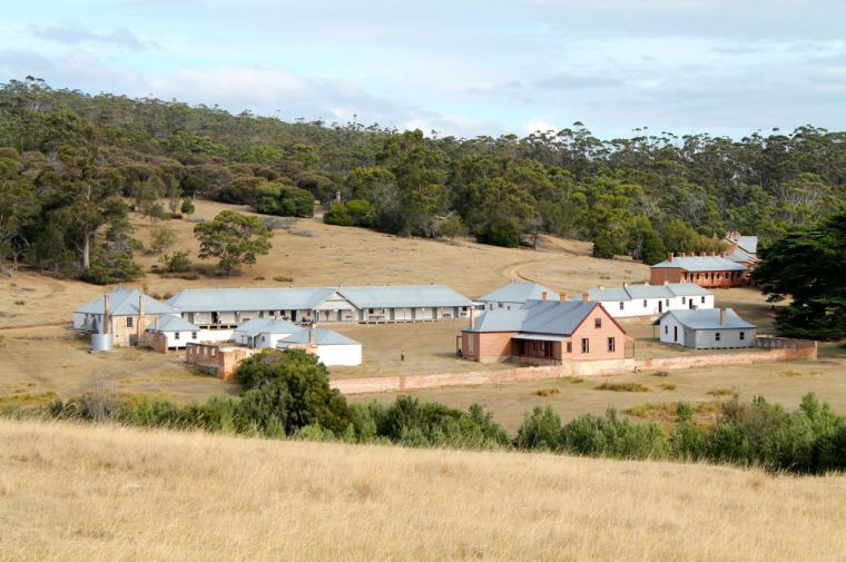 Darlington Settlement Maria Island