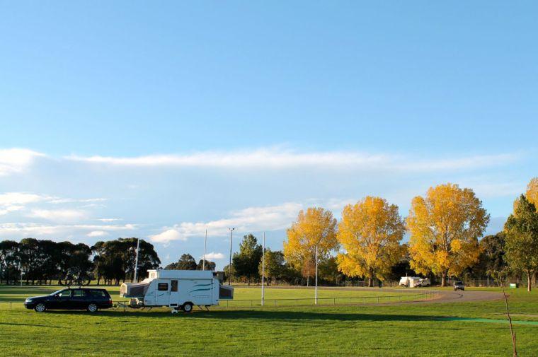 Free camp at Forth