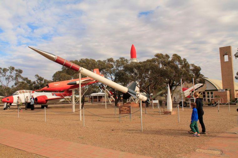 Woomera rocket park