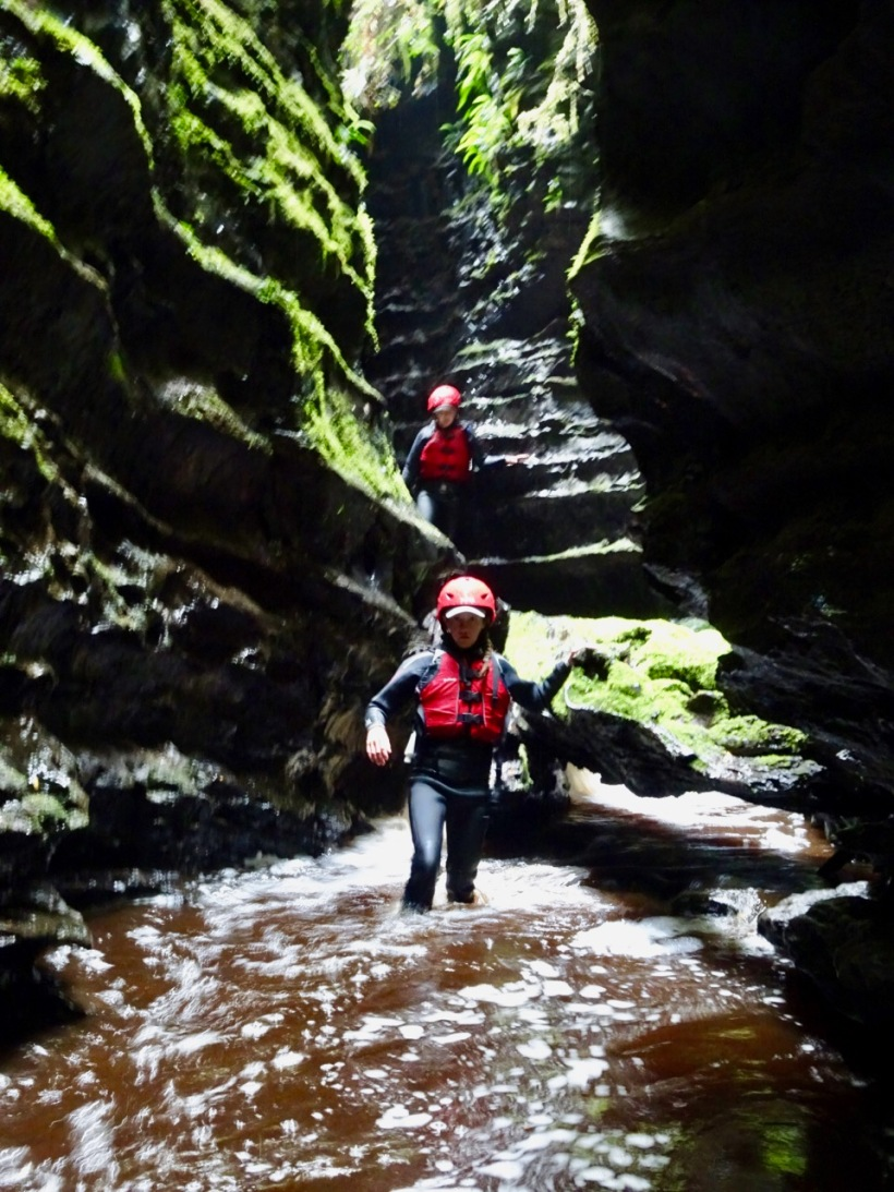 Canyoning in the Lost World
